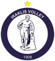 1972 iraklis volley logo